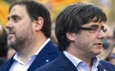 La Fiscalía mantiene el delito de rebelión a los líderes del 'procés'