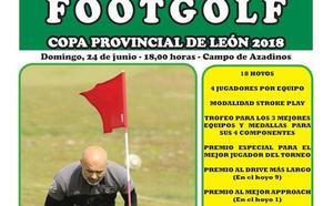 Azadinos se prepara para la Copa Provincial de Footgolf