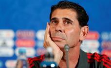 Hierro: «De Gea está entre los tres mejores del mundo y va a jugar»