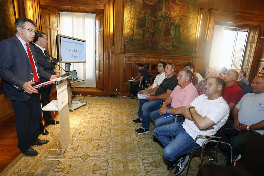 Presentación del Plan de Empleo Forestal de la Diputación de León