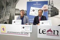 Presentación del sorteo de Lotería Nacional que se celebrará en León