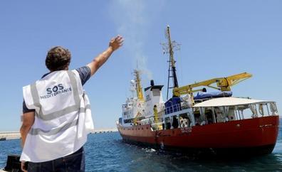 El 'Aquarius' zarpa de Valencia rumbo a nuevas misiones de rescate en la costa libia