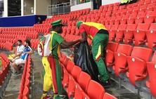Las aficiones de Senegal y Japón, campeonas del mundo de civismo