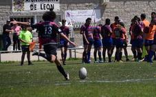 Lucas Greene, de la cantera del León RC, citado por la selección de Castilla y León de seven
