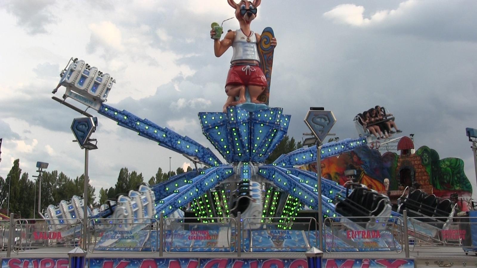 La feria 'inaugura' las Fiestas