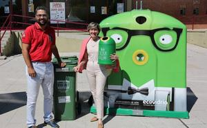 El Ayuntamiento y Ecovidrio prevén recoger 4.000 kilos de vidrio durante las Fiestas de San Juan y San Pedro