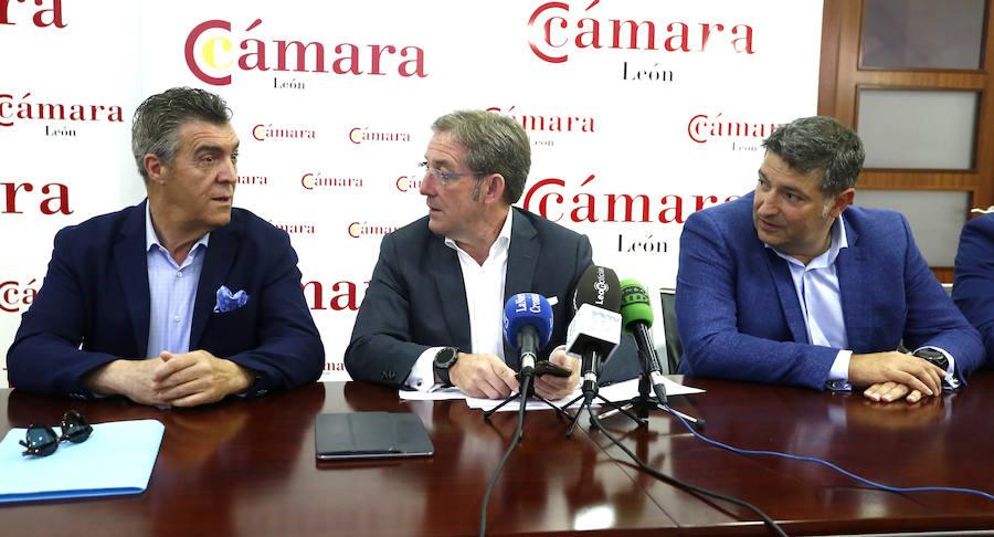Presentación de la candidatura a los órganos de gobierno de la Cámara de Comercio de León