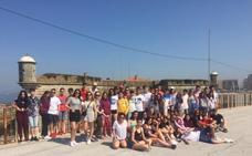 Aventura en tierras portuguesas para 1º de Bachillerato del Colegio La Asunción