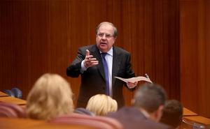 Juan Vicente Herrera, en su examen final de legislatura y de mandato