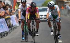 Carlos Álvarez, con los mejores en el Nacional de ciclismo sub-23
