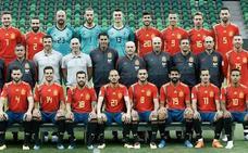 España repite la foto oficial