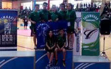 El Valderas cierra la temporada con seis medallas en Segovia