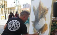 Brochazos de arte en PlENa calle