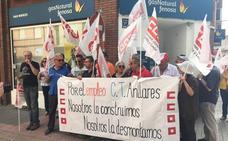 Los nueve despedidos de Masa Galicia en la central de Anllares amplían las denuncias a Endesa