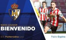 La Ponferradina incorpora a Pablo Espina