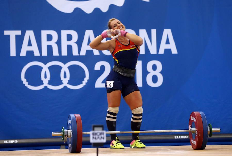 Lydia Valentín brilla en los Juegos Mediterráneos