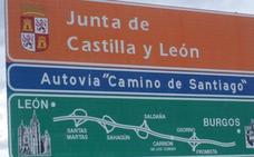 Circula nueve kilómetros en dirección contraria en la autovía León-Burgos por un despiste