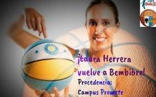 Laura Herrera regresa a Bembibre con ganas de «disfrutar y dar muchas alegrías»