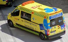 Heridos un motocilista y un peatón al que atropelló en la Avenida San Juan de Sahagún de León