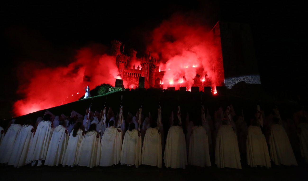 Desfile de la Noche Templaria de Ponferrada