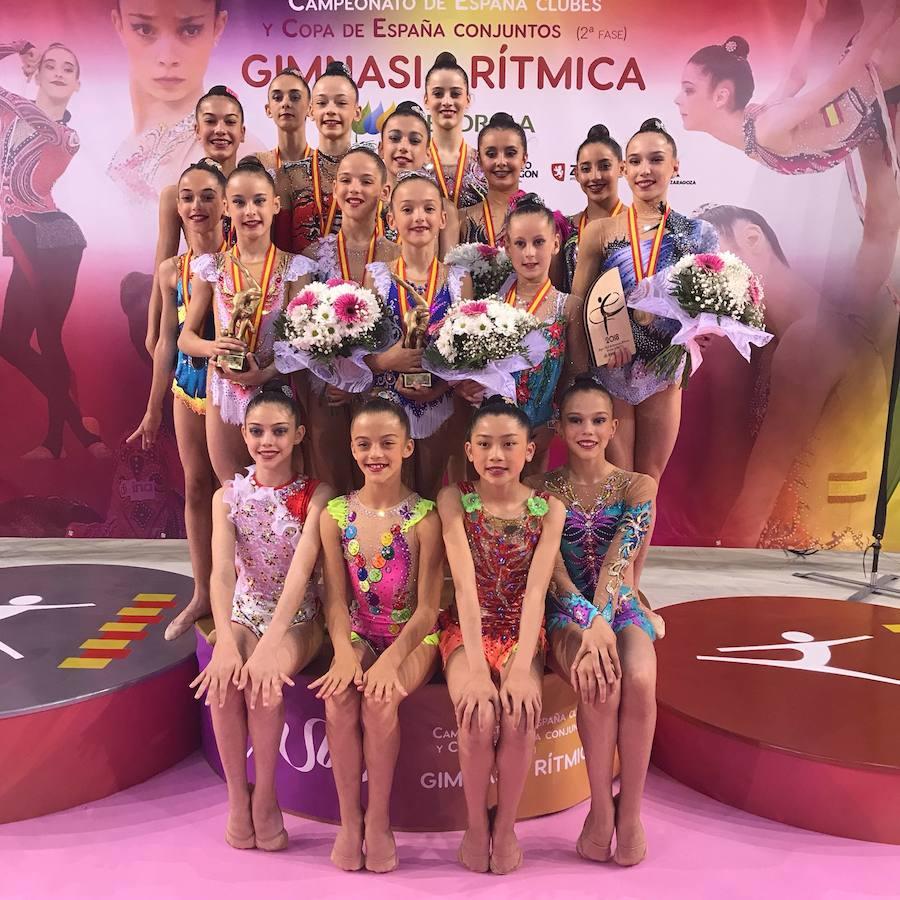 Las medallistas del Ritmo