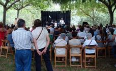 Arrancan en Veguellina la XI edición de 'Poesía a Orillas del Órbigo' y el IV Festival Folclórico Leonés