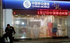 Washington bloquea a la operadora China Mobile en el mercado estadounidense