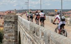 La II edición de la prueba de mountain-bike 'gaes pilgrim race' une a León con el Camino de Santiago