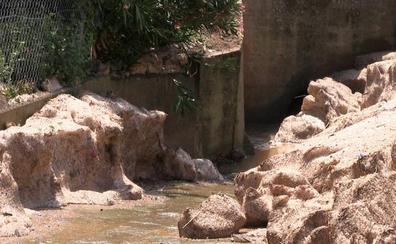 El día después de la riada en Algadefe