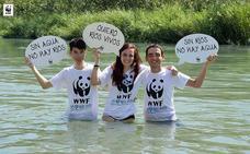 Villablino se suma al 'Gran Salto' convocado por WWF en toda Europa en defensa del agua y de los ríos