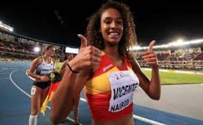 María Vicente también gana el oro en triple salto