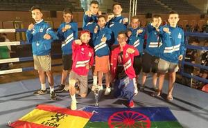 El Braga Open Boxing deja tres oros y tres platas a la delegación leonesa