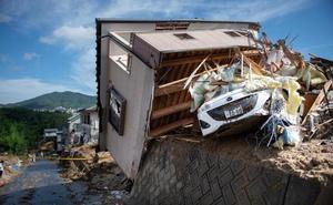 Las lluvias torrenciales dejan 122 muertos en Japón y más de 5 millones de evacuados