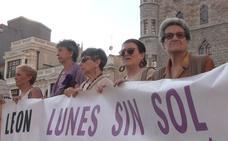 La violencia machista 'apaga' el sol en León