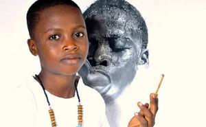 El «artista diminuto» de 11 años que crea auténticas obras maestras
