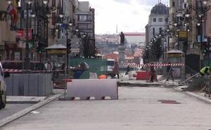 Silván confía en abrir Ordoño II antes del día 28 pero muestra su «decepción» por los plazos