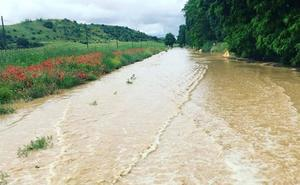Seis provincias de Castilla y León estarán hoy en riesgo por lluvias y tormentas