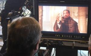 El Auditorio de León acoge el primer pase de 'Onyx', la película sobre la historia del Grial