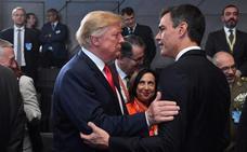Sánchez ya conoce a Trump, pero le dice «no» a gastar el 2% en Defensa