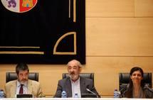 Santos LLamas comparece en la comisión de investigación de las cajas
