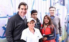 La Fundación Microfinanzas BBVA impulsa su transformación digital desde las afueras de Bogotá