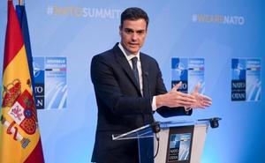 Trump arranca a Sánchez la promesa de avanzar hacia el 2% en gasto militar