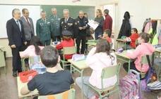 La Guardia Civil imparte 241 charlas en 69 centros educativos de la provincia de León