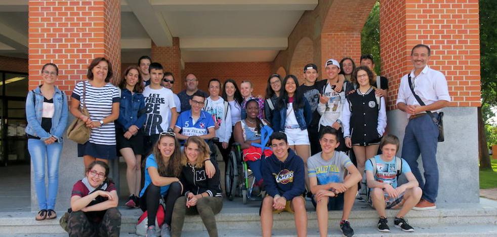 20 estudiantes con discapacidad han visitado la ULE dentro del programa 'Campus inclusivo'