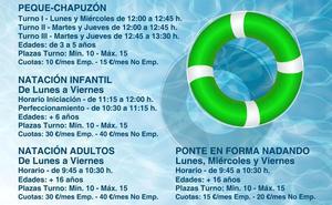 Valverde de la Virgen presenta el 'Programa Acuático' para este verano