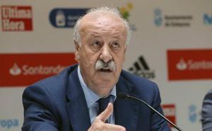 Del Bosque: «España tiene buenos entrenadores y Luis Enrique es uno de ellos»