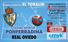 La Deportiva se estrena en El Toralín a beneficio de Cruz Roja