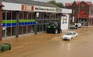 La lluvia causa estragos en la provincia en una nueva jornada de inundaciones por las tormentas