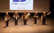 El Quinteto de Metales Spanish Brass luce en el curso de música 'Ciudad de Astorga'