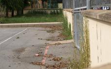 El Ayuntamiento eliminará durante julio la vegetación espontánea de los colegios públicos con glifosato